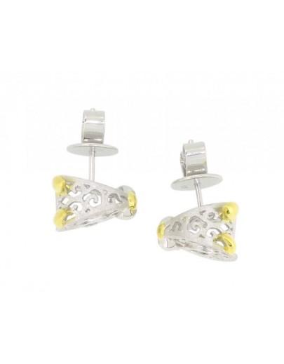 HK114~ 925 Silver Dog Shaped Earrings