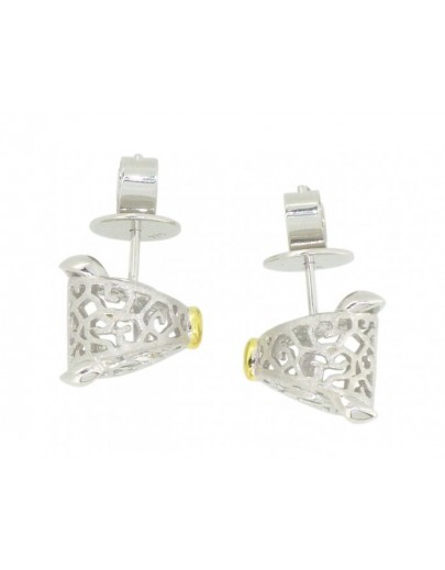 HK115~ 925 Silver Pig Shaped Earrings