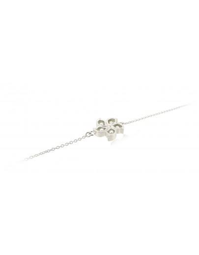 HK171 ~ 925 Silver Bauhinia Bracelet