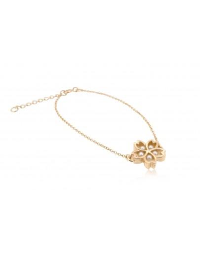 HK180 ~ 925 Silver Sakura Bracelet