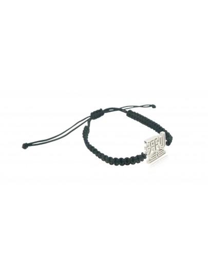 HK210~ 925 Silver  Cool Rope Bracelet