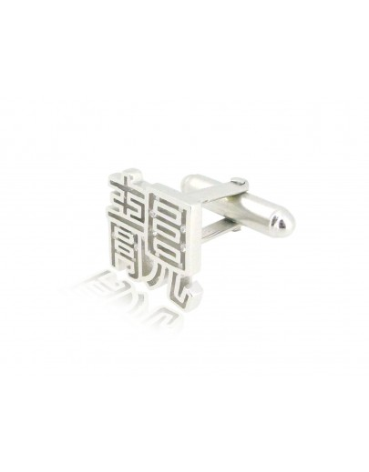 HK213~ 925 Silver  Beautiful Cufflink