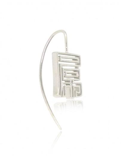 HK219~ 925 Silver  FxxK Earring
