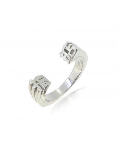 HK229~ 925 Silver  OK Ring