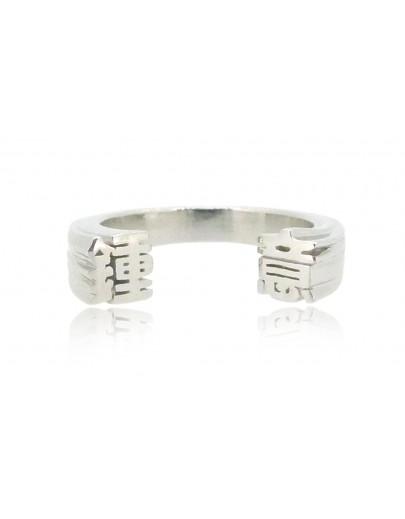 HK231~ 925 Silver  Like Ring