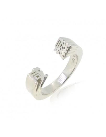 HK233~ 925 Silver  Lustful Ring