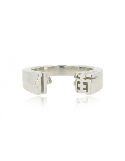 HK234~ 925 Silver  Damnit Ring