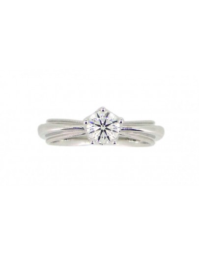 OD001~ 18K White Gold Diamond Ring