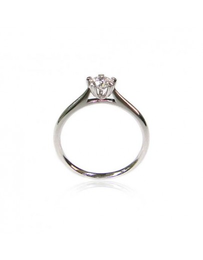 OD003~ 18K White Gold Diamond Ring