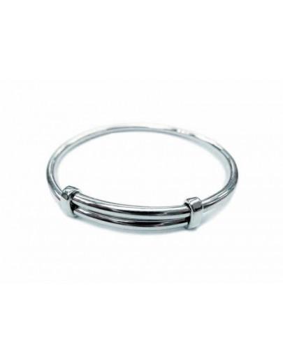 OD004~ 925 Silver Bangle