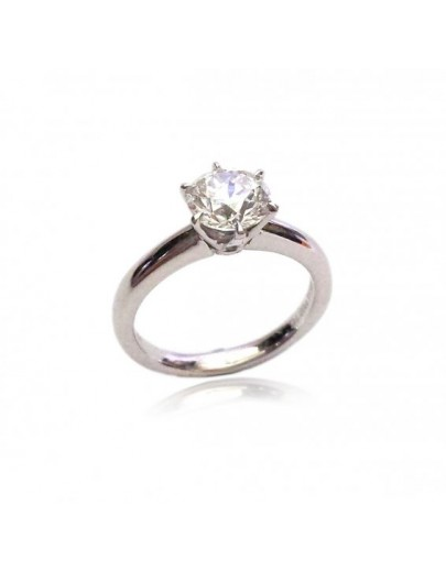 OD007~ PT950 Platinum Diamond Ring