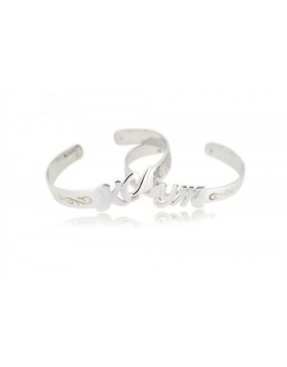 OD010~ 925 Silver lover Bangles
