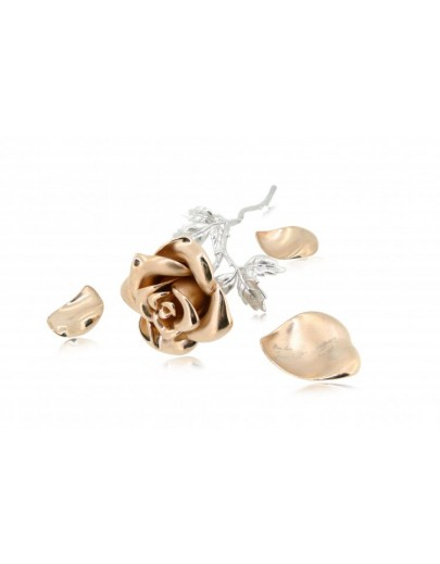 OD023~ 925 Silver Rose