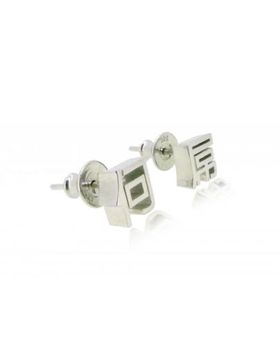 OD084~ 925 Silver 何屌 Earrings