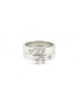 OD024~ 925銀鑽石情侶戒指