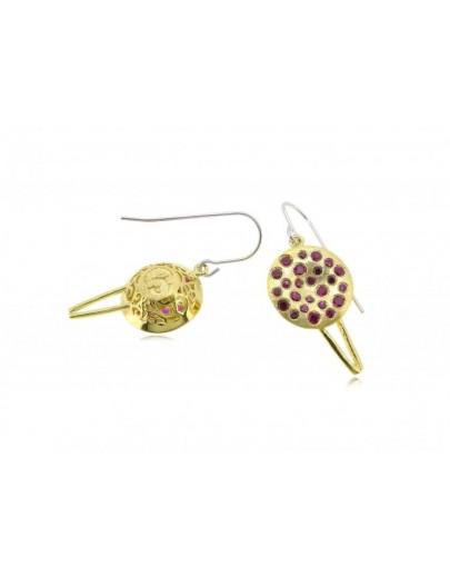 HK012~ 925銀缽仔榚造型耳環