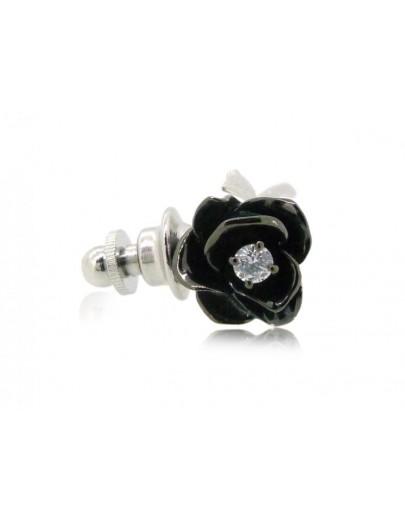 HK098~ 925銀玫瑰花造型領針