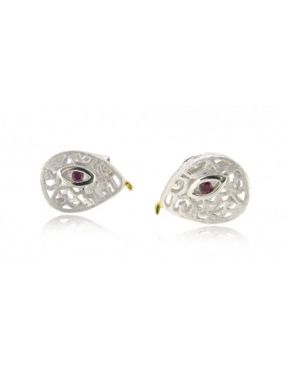 HK109~ 925銀蛇年造型耳環