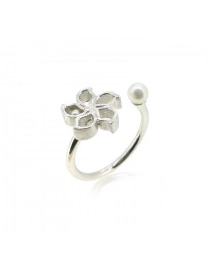 HK165 ~ 925銀洋紫荊造型戒指