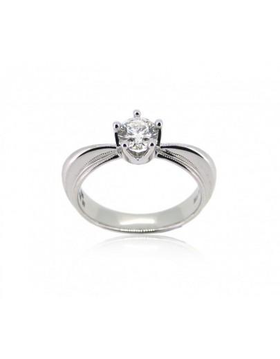 OD001~ 18K白金鑽石戒指