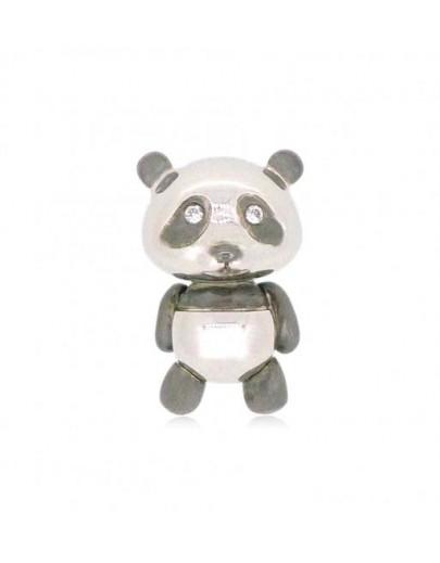 OD015~ 925銀熊貓造型吊墜連頸鏈