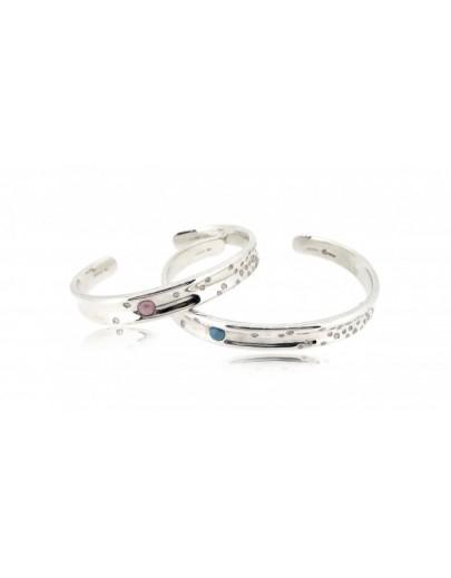 OD027~ 925銀鑽石情侶手鐲