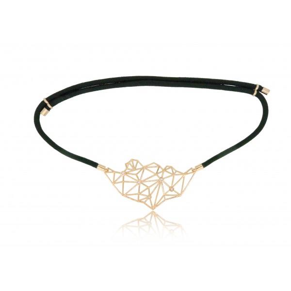 HK268~ 925 Silver Lion Rock Rope Necklace