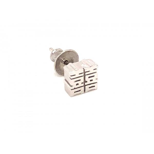 HK297~ 925 Silver <囍> Earring