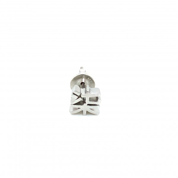 HK377~ 925 Silver <柒> Earring