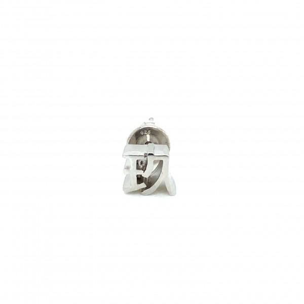 HK379~ 925 Silver <玖> Earring