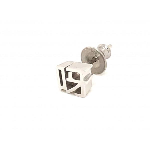 HK302~ 925 Silver <呀> Earring