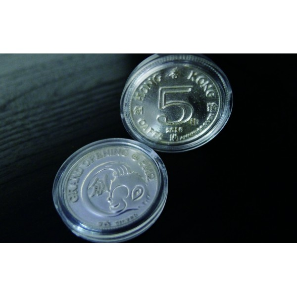 OD069~ Hong Kong Oapes the 5th Year Anniversary Silver Coin