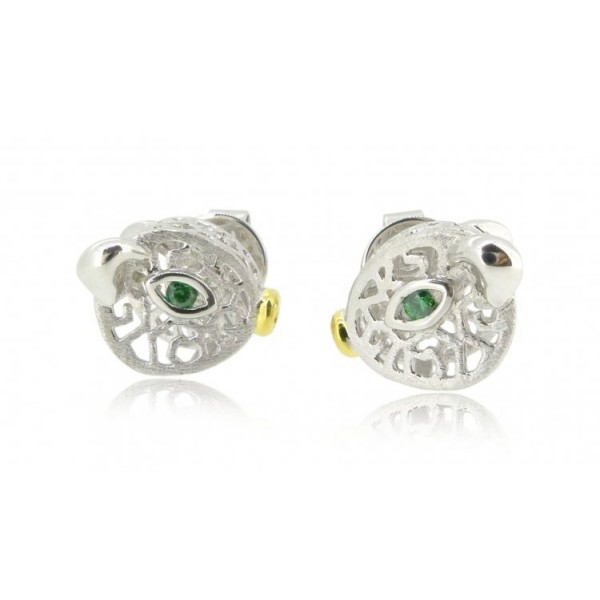HK115~ 925 Silver Pig Shaped Earrings