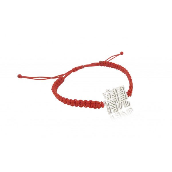 HK206~ 925 Silver <靚> Beautiful Rope Bracelet