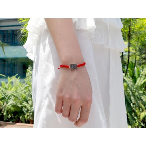 HK206~ 925 Silver <靚> Beautiful Rope Bracelet