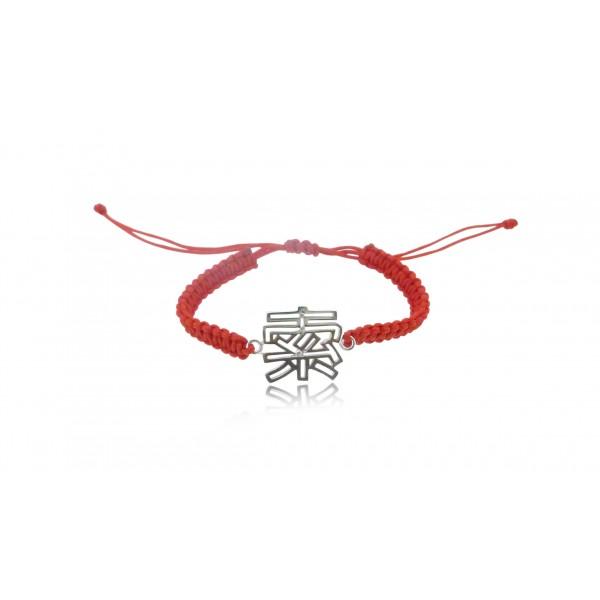 HK207~ 925 Silver <索> Sexy Rope Bracelet