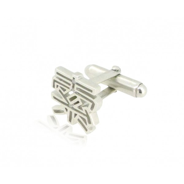 HK214~ 925 Silver <索> Sexy Cufflink /piece
