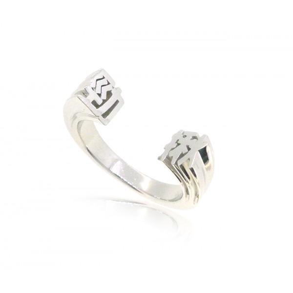 HK228~ 925 Silver <勁揪> Powerful Ring