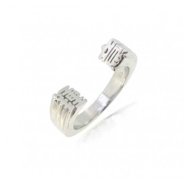 HK231~ 925 Silver <鍾意> Like Ring