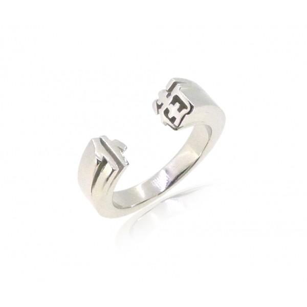 HK234~ 925 Silver <仆街> Damnit Ring