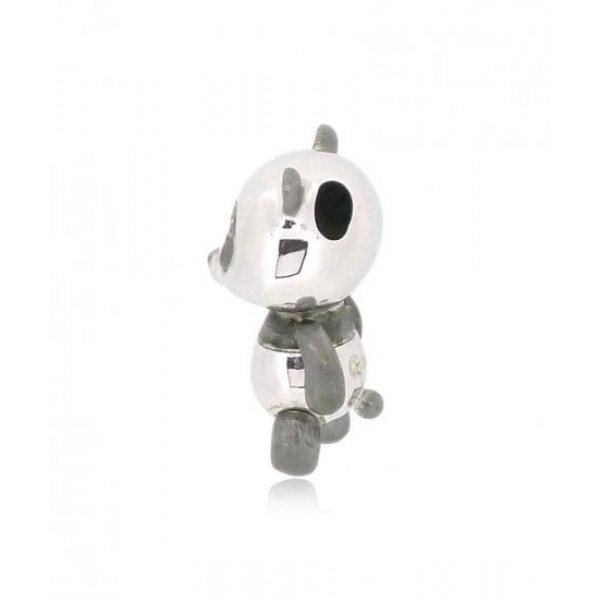 OD015~ 925 Silver Panda Pendant with Necklace