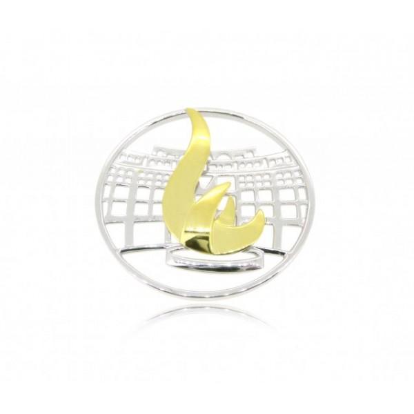 OD054~ 925 Silver HKUST Pendant